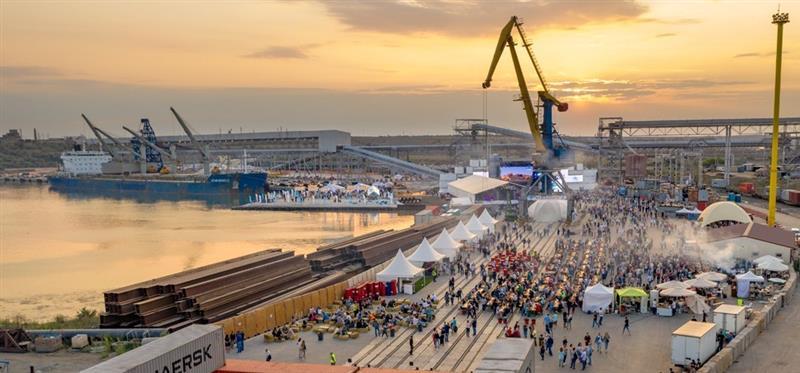 Le plus grand terminal céréalier est ouvert en Ukraine
