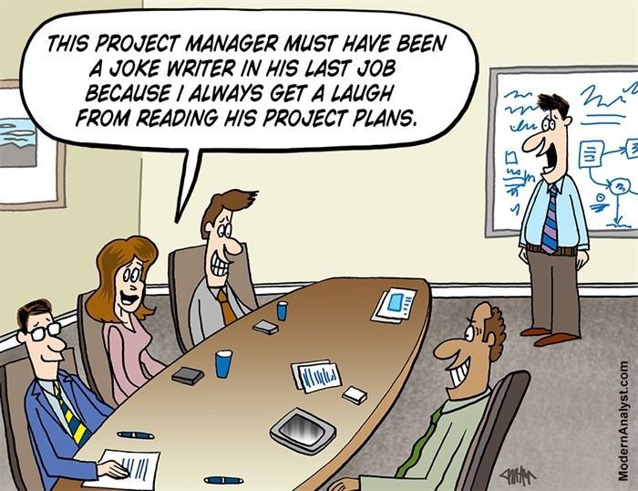 L'humour en management de projet