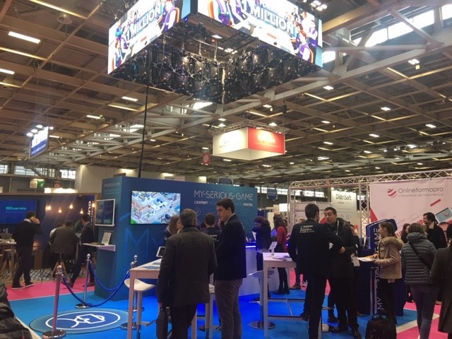 Quelques innovations vues au Salon Solutions RH 2019